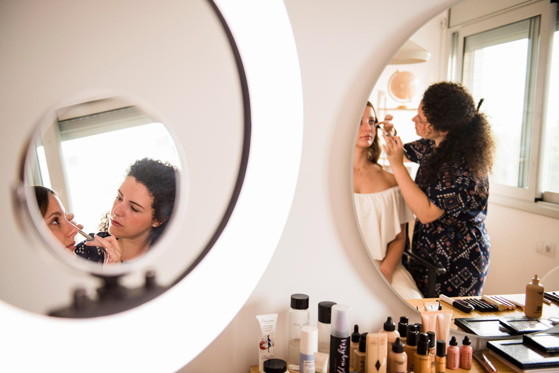 Maquilladora para novias en Tarragona