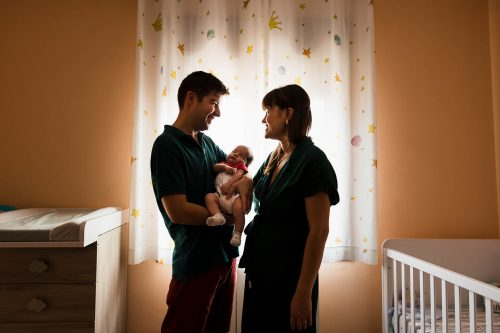 sesión de recién nacido en Tarragona